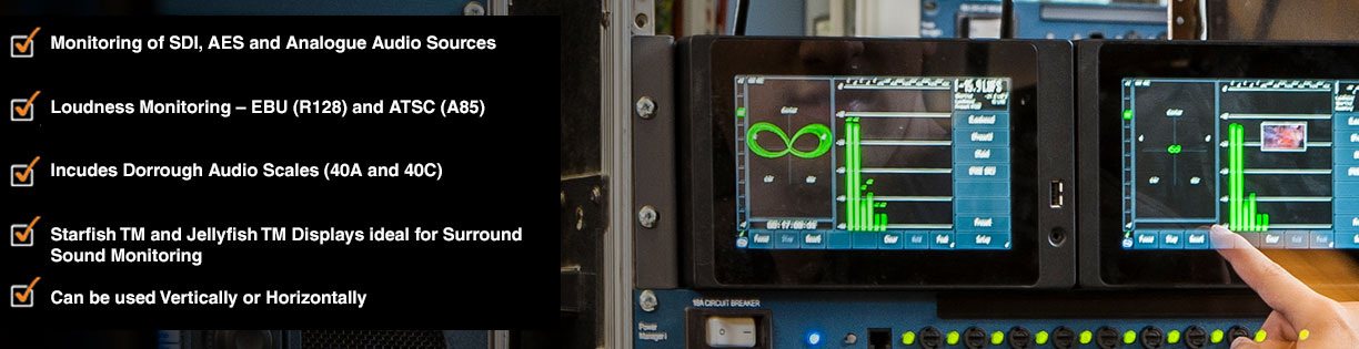 Loudness Metering and Waveform Monitoring | TSL Products